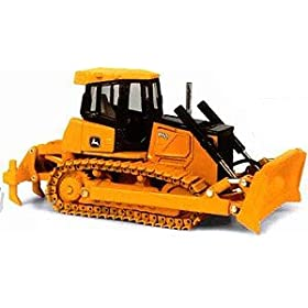 diecast car: John Deere 850J Bulldozer High Detail 1:50 Scale Diecast Toy Truck