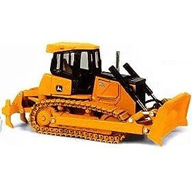 diecast car: John Deere 850J Bulldozer High Detail 1:50 Scale Diecast Toy Truck