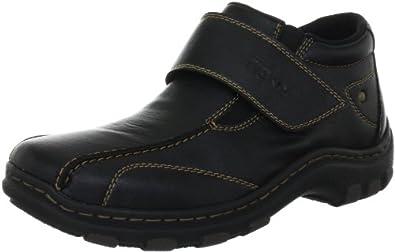 Rieker 07392-00, Herren Boots, Schwarz (schwarz 00), EU 43