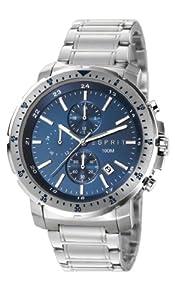 Esprit Herren-Armbanduhr XL Chronograph Quarz Edelstahl ES107521003