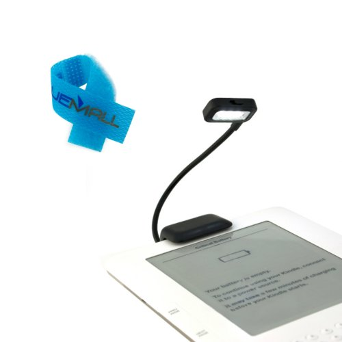 BIRUGEAR Black Dual LED Clip-On Reading Light