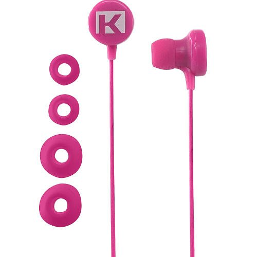 Kurio Volume-Limiting In-Ear Earbuds W/ Custom Fit Silicone Tips