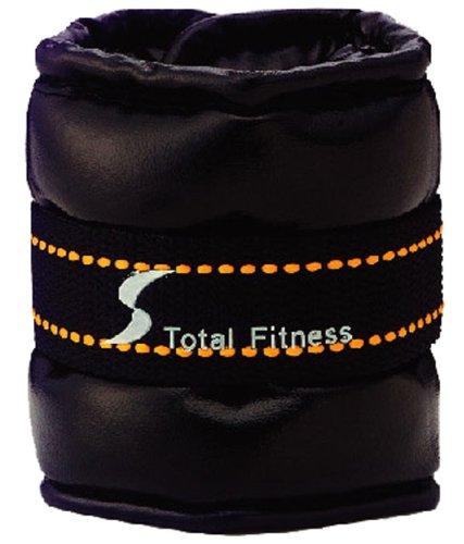 倍力健身俱乐部 (TotalFitness) ソフトアンクルリストウェイト 1 公斤 2 片套 STW080