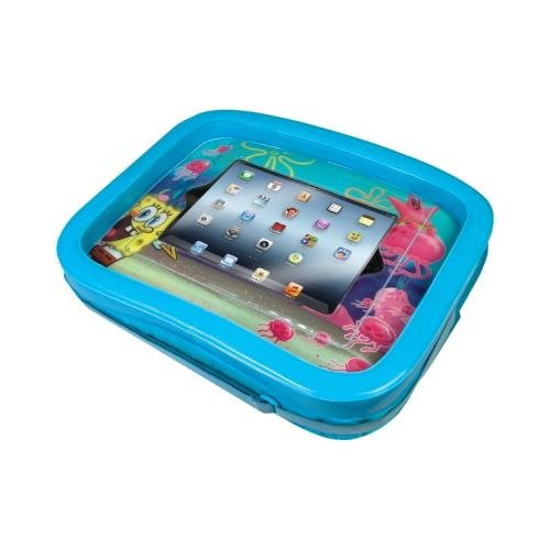 Cta Digital Nic-Sit The New Ipad(R) 3Rd Gen Spongebob Squarepants;Universal Activity Tray front-486609