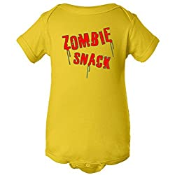 Zombie Snack One Piece Romper Baby Bodysuit