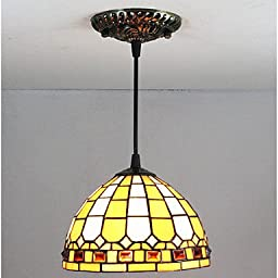 CHXDD 25W Pendant Light / Vintage Painting Feature for Mini Style Glass Living Room / Entry , 110-120v