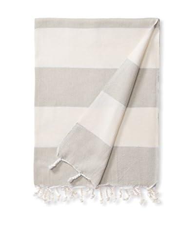 Espalma Turkish Towel Adana, Ivory/Linen