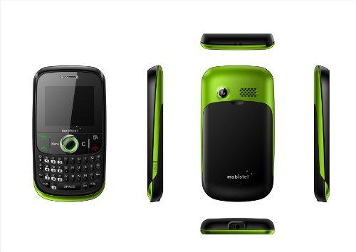 Mobistel EL400 grün (5,1 cm (2 Zoll) Display) Handy ohne Branding