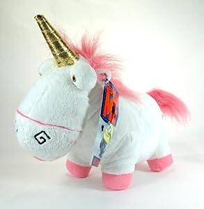 """Despicable Me Unicorn - 12"""" Fluffy Plush Unicorn"""