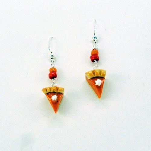 Holiday Pumpkin Pie Dangle Earrings