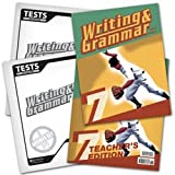 Writing and Grammar 7 Subject Kit--Student, Teacher, Test, Key