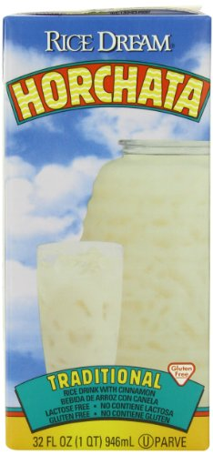 RICE DREAM Horchata Non-Dairy Beverage, 32 Fluid Ounce (Pack of 6)