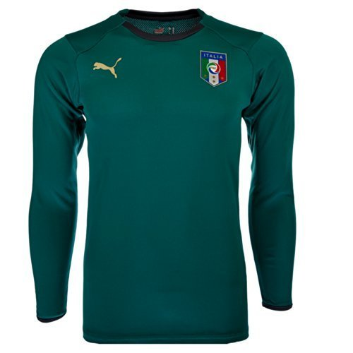 Puma Italia Maglia Da Portiere 733865 Uomo Calcio - verde, L