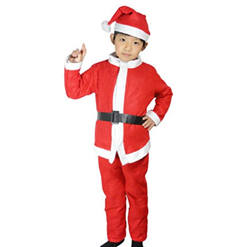 WenMei Child Boys Outfit Fancy Costume Christmas Xmas Suit for 3-7 Years Old