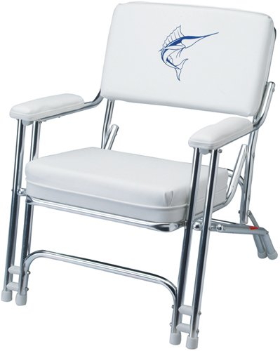 Garelick/Eez-In 48106-61 Marine Chair with Weatherproof Sewn Cushion
