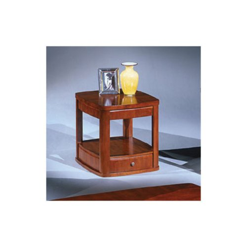 Cheap Bernards Cherry End Table (B005TVOCFY)