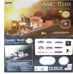 Continental Express 0n30 Scale Steam Freight Train Set