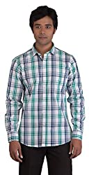 BearBerry Long Sleeve Casual White Shirt (X-Large)