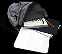 "Hardwire White Bulletproof Backpack Insert 10""x13"" NIJ 3A Compliant (book bag armor)"