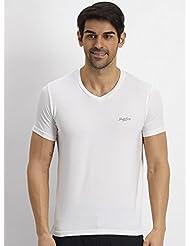 Fritzberg F&G Basic Hs Noble White Men's T-Shirt - B00S2I2OSS