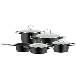 WMF Bueno Induction Cookware Set, 9-Piece