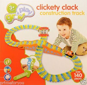 grow-and-play-clickety-clack-construction-track-with-motorized-digger-140-pcs-by-sainsburys