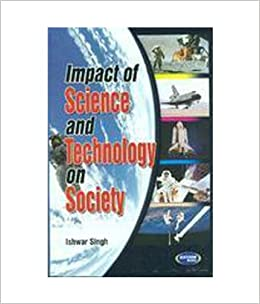 impact of science and technology Free essay on effects of science and technology on society available totally free at echeatcom, the largest free essay community.
