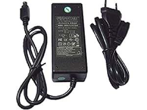 Aixcase AIX-PS34-6PIN - Fuente de alimentación (TÜV y GS, para aparatos de HDD de 3,5 y 5,25, 6 pines)