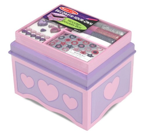 Melissa & Doug Jewelry Box - DYO - 1