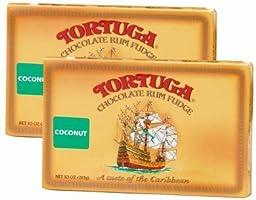 Tortuga Caribbean Coconut Rum Fudge