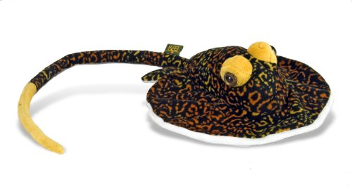 "Wild Republic AQ Stingray Adult Tiger 10"" Plush"