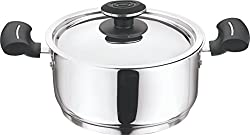Vinod Cookware 202 Tivoli Casserole with Lid, 2.3 Litres