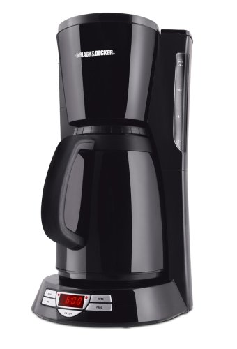 Braun Coffee Maker Directions : Black & Decker TCM450B 8-Cup Thermal Coffeemaker, Black www.cafibo.com