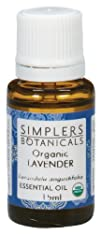 Essential Oil Lavender Organic Simplers Botanicals 15 ml Liquid