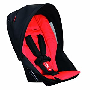 phil&teds Navigator Doubles Kit for Strollers, Cherry