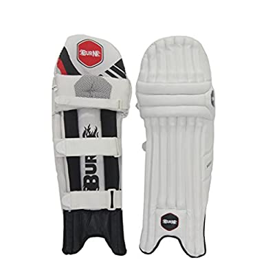 Burn Hitter Right Hand Batting Leg Guards-Mens
