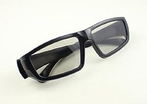 Deux paires de lunettes 3D polarisées passives pour l'utilisation de la 3D Blu-ray, PS3 Sky TV, Cinéma / Pubs, Sony, Samsung, Vizio, Panasonic, Phillips, Technika, Violoncelle, LG
