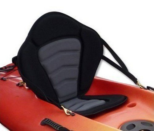 Pactrade Marine Adjustable Padded Deluxe Kayak Seat Detachable Back Backpack/Bag Canoe Backrest (Sit On Top Kayak Seat compare prices)