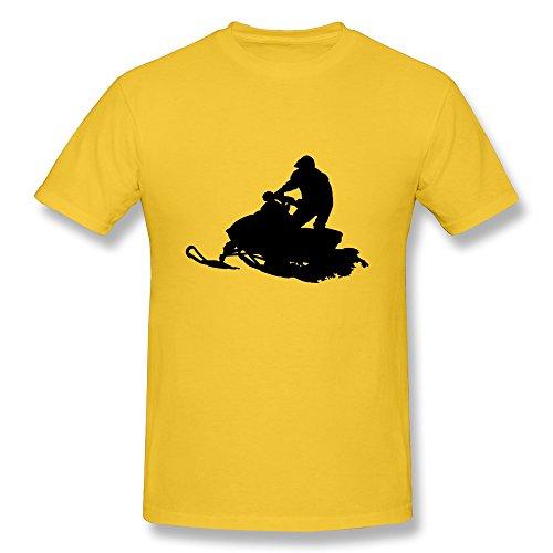 Snowmobile Men'S Unique T-Shirts