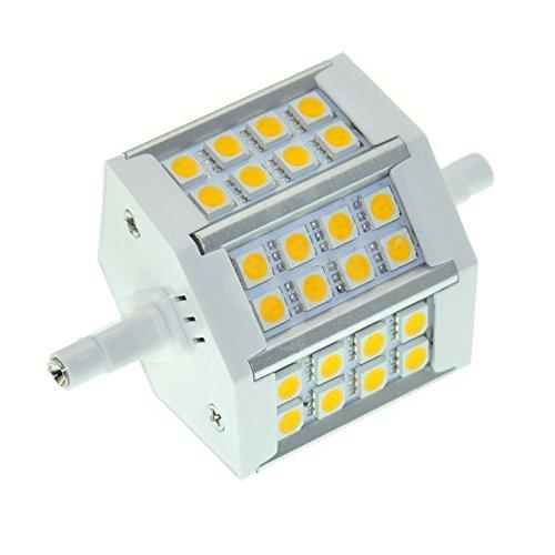 Toogoo(R) R7S J78 Energy Saving White 24 Smd Led Halogen Light Lamp Bulb 5W