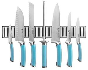 Shoku Anodized 8 Piece Cutlery Set Finish: Frost