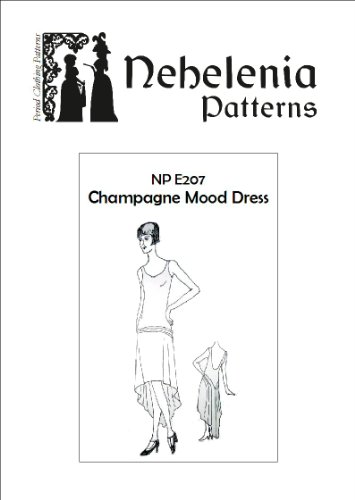 1920s Art Deco Champagne Mood Dress Pattern