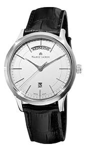 Maurice Lacroix Men's LC1007-SS001130 Les Classiques Quartz Silver Day Date Dial Watch