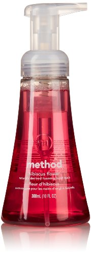 Method Home Care Hand Wash, Foaming, Hibiscus Flower, 10 Oz