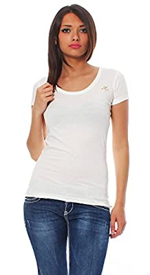 Yakuza Premium Damen T-Shirt GS 1740 - weiß
