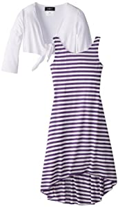 Amy Byer Girls 7-16 Stripe Twofer Dress from Amy Byer