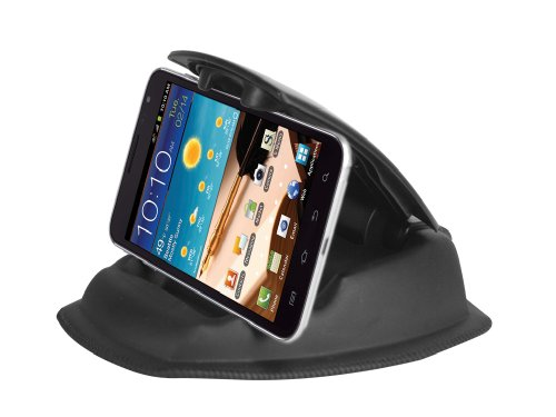 Cellet Universal Phone & PDA Holder W/ Non-Slip Sticky Pad for Dashboard or Desktop