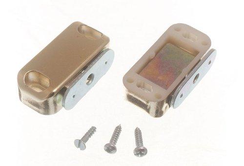 Single mit Magnetverschluss und Befestigungsschrauben Gold 5kg Pull (Packung mit 2)