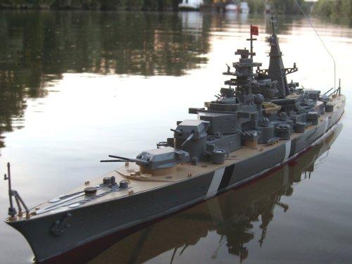 RC-Schiff-Ferngesteuert-Bismarck-Schlachtschiff-RC-Boot-RTR-Komplettset