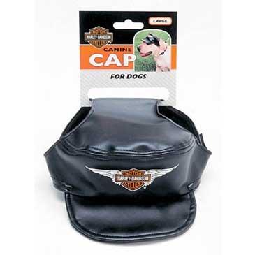 Harley-davidson Vinyl Pet Cap SML